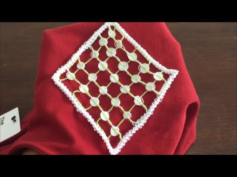 Irish Lace Crochet Pattern Circle Filling Crochet Stitch Youtube
