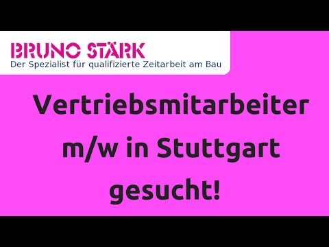 Zeitarbeit Stuttgart: Vertriebsmitarbeiter im Innendienst (m/w) Festanstellung Top Gehalt!