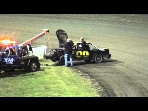 29th Annual Fall Challenge IMCA Sport Compact feature Southern Iowa Speedway 10/2/15