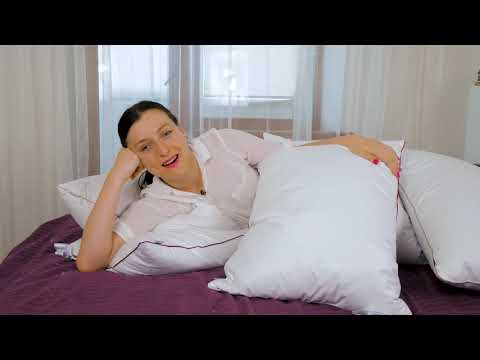 Пуховая подушка MirSon 100% Белый пух