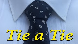 How To Tie a Tİe   Full Windsor Knot   Tie a Tie easy way  For Beginners
