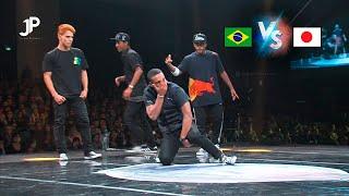 6vs6 Battle 1 | Team Brazil Vs. Team Japan World Street Dance