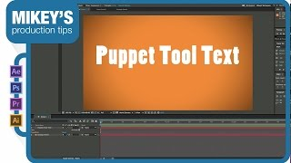 Making the puppet tool work with Text Layers