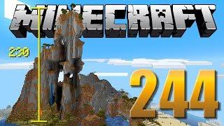 Quebrando a MAIOR MONTANHA do Minecraft - Em busca da casa automática #244