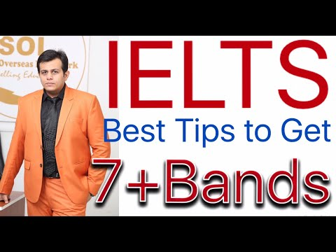 IELTS - How To Score 7+ Bands In 30 Days | Tips Latest | Master Plan