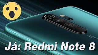 Redmi Note 8 Pro Com 4 Cameras Já Tem Data De Lançamento Marcada