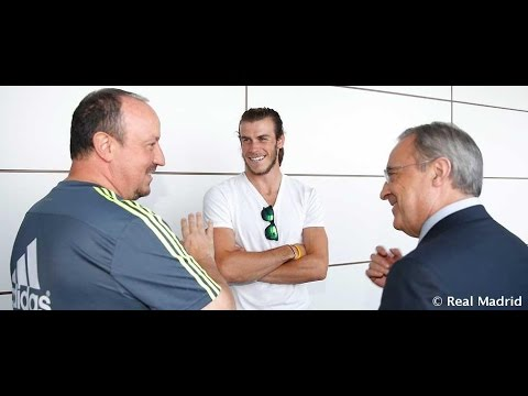 Florentino Pérez dio la bienvenida a la plantilla