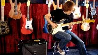 Dr. Z Z-Lux demo with Nash S57 & Anderson Angel guitars