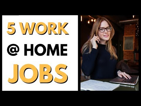 Legitimate Work From Home Jobs Hiring Now 2018 {5 work from home jobs}
