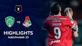 Highlights Akhmat vs Lokomotiv (1-3)