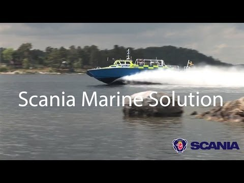 Scania Marine Solution