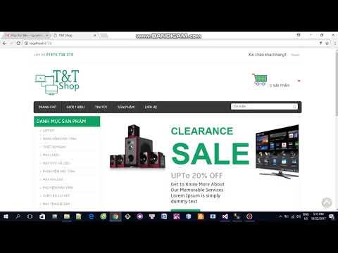 [Asp.Net MVC] Đồ án Website bán hàng - Part2