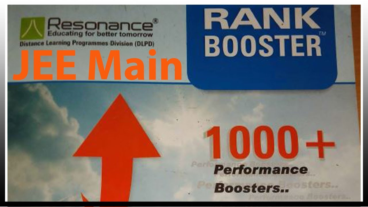 Download PCM Resonance Rank Booster for JEE Main pdf files