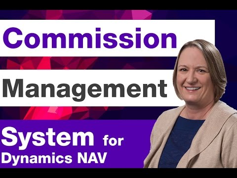Commission Management System | Microsoft Dynamics NAV | Sikich LLP