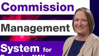 Commission Management System | Microsoft Dynamics NAV | Sikich LLP