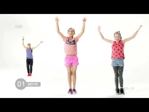 Modern dance moves for kids | Free class