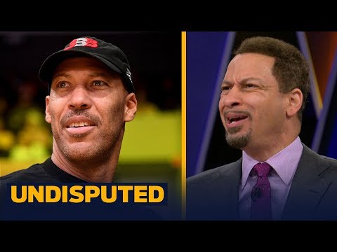 Chris Broussard thinks Magic Johnson should change his approach dealing with LaVar Ball | UNDISPUTED
