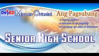 MISAMIS ORIENTAL SENIOR HIGH SCHOOL