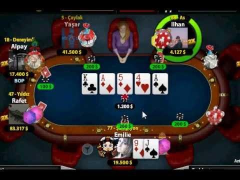 Texas Holdem Poker Slot Hilesi