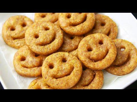 Potato Smiley Recipe | potato Emoji | Easy Potato Snacks Recipe | Toasted