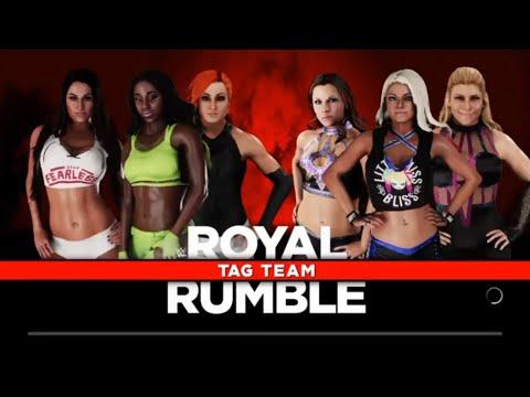 WWE2K18: Alexa Bliss Path of Fury Episode 3: Six Woman Tag at Royal Rumble 2017
