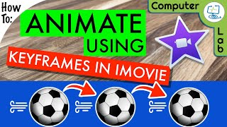 How To use KeyFrames and Animate in iMovie | The Computer Lab 🖥