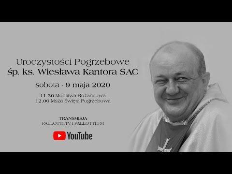 Uroczystości Pogrzebowe śp. ks. Wiesława Kantora SAC (9 maja 2020)
