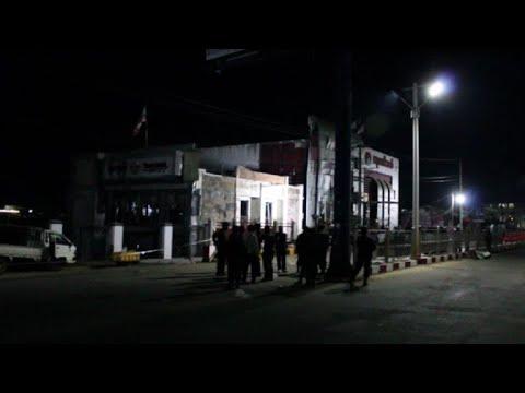 Bank blast kills two, injures 11 in northern Myanmar