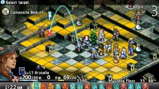 Tactics Ogre: LUCT (PSP) - GyoruSPY Chapter 3 Part 13/END [Phidoch Great Hall]