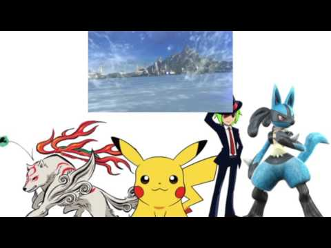 Jack Cyber Okami Phantom N and Dark Aura Productions React to the 11-12-15 Nintendo Direct