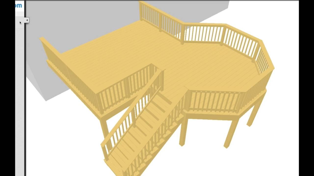 free deck designer software plans
