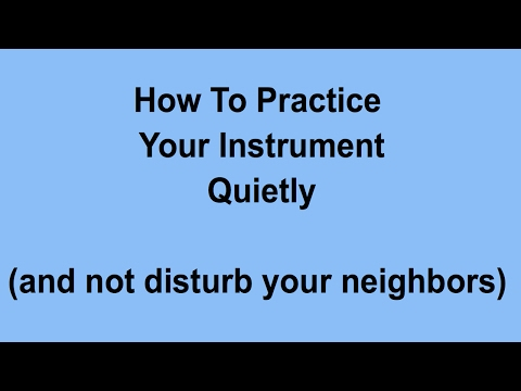 how-to-play-your-instrument-quietly