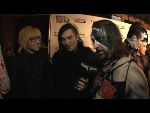 DEATH VALLEY HIGH Interview, Revolver Music Awards 2016 Black Carpet | MetalSucks