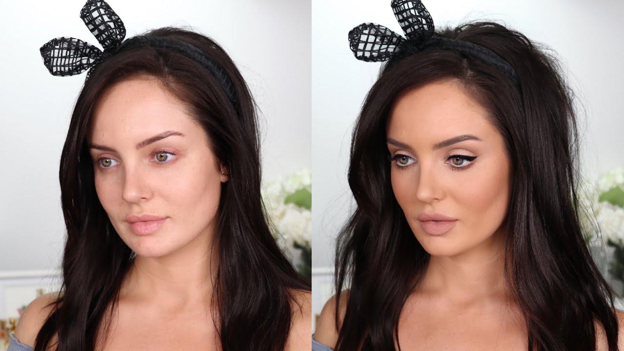 Full Face of MATTE Makeup: 60's Mod Transformation \\ Chloe Morello