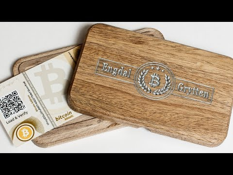 Making a Wooden Bitcoin Wallet