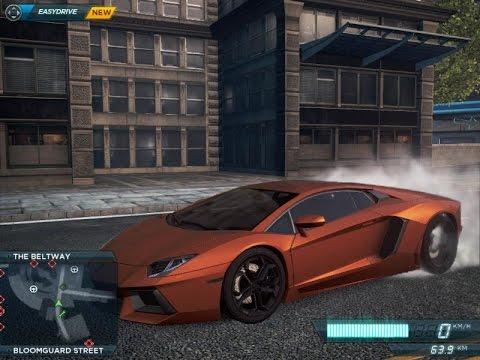NFS Most Wanted 2012 Lamborghini Aventador Location