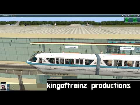 Trainz 12: The Outside World (MEGA Airport & Monorail) Version 3.0 BETA