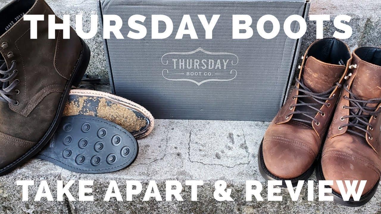 REVIEW: Thursday Boot Captain | Boots