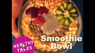 How to make Oats Smoothie | Weight Loss Recipes by Healthy Tales | Healthy Oats - Fruit Smoothie