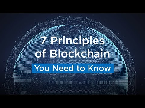 7 Principles of Blockchain You Should Know About | Blockchain Introduction | Blockchain Technology