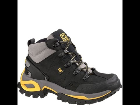 f308cc8b33b10 P89715 Caterpillar Men's Interface Safety Boots - Black - YouTube