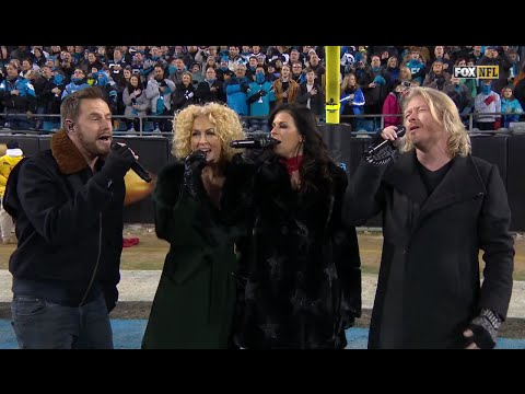 Little Big Town sings the National Anthem at Cardinals-Panthers Game