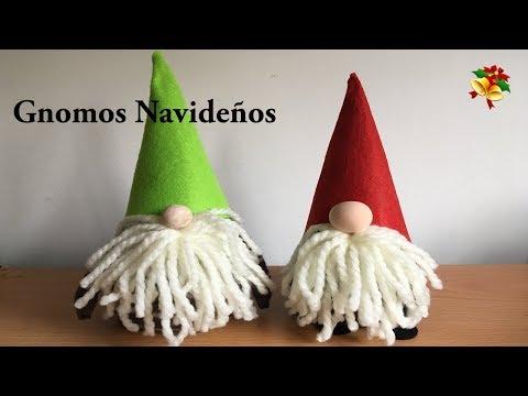 C mo decorar los cubiertos para navidad for Gnomos navidenos