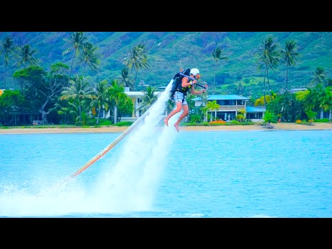 FLYING A JETPACK IN HAWAII!!!