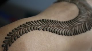 Best & Simple Mehndi Designs for Hands/ मेहंदी लगाना सीखें