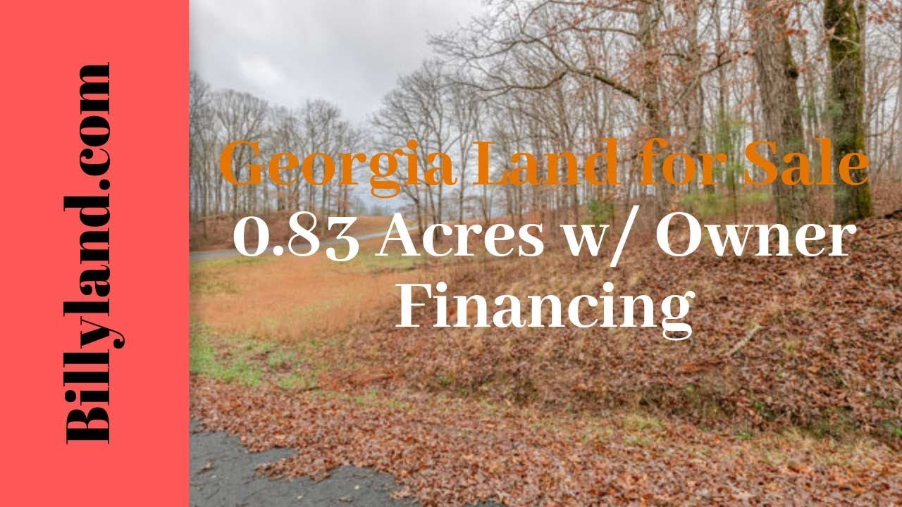 Cheap Georgia Land for Sale 2 1 Acres, Union County, Owner Financing