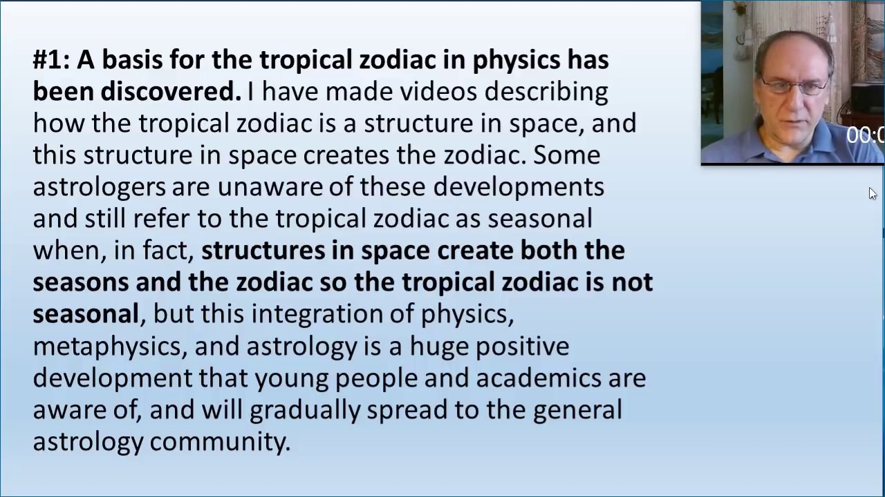 Tropical vs Sidereal Astrology: Recent Developments