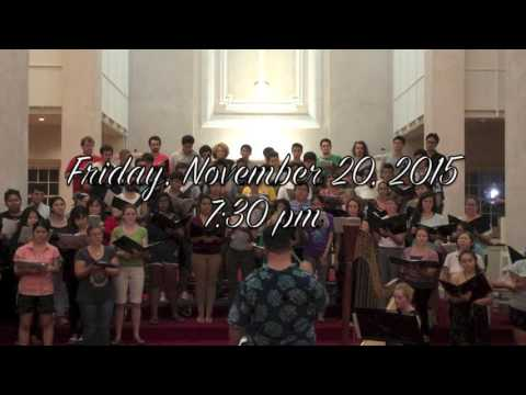 University of Hawai'i at Manoa - Fall 2015 Concert Preview