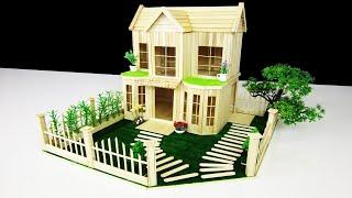 아이스 바로 아름다운 저택을 만드는 법 - 아이스 스틱…