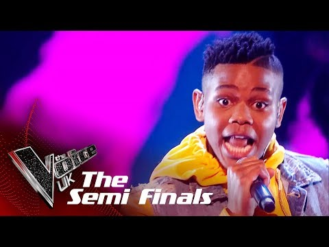 Donel Mangena Performs 'Happy': The Semifinals | The Voice UK 2018